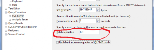 "Why ""GO"" statement is important in SQL Server? Do we really need it?"